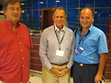 Doc. Dr. Jovanovic with Dr. Djuricic and Prof. Thomas Biggs (USA)